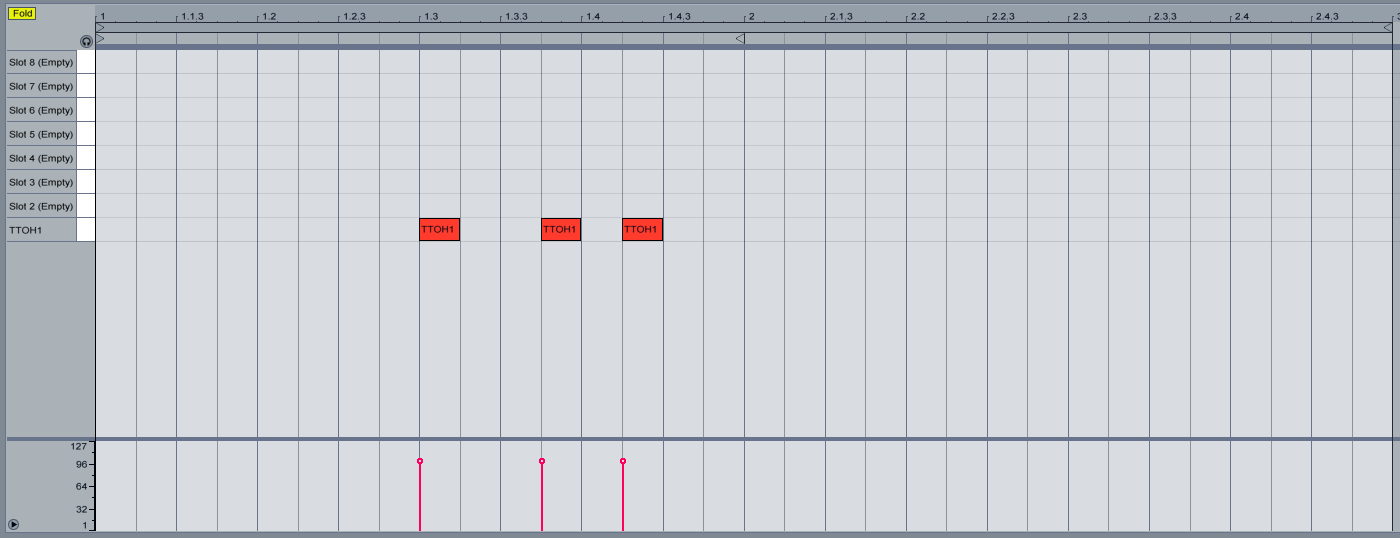 how to open piano roll ableton