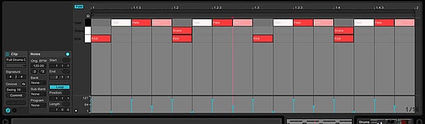 Dark Grey skin for Ableton Live