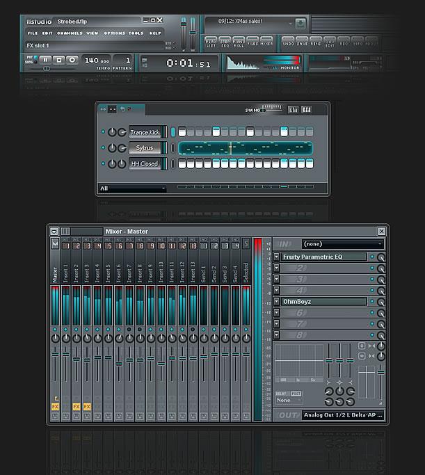 Strobed - FL Studio Skin