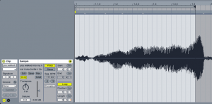A sample in Ableton Live