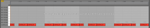 The trance gate is made using a mixture of 16th and 32nd notes in Ableton Live's midi editor